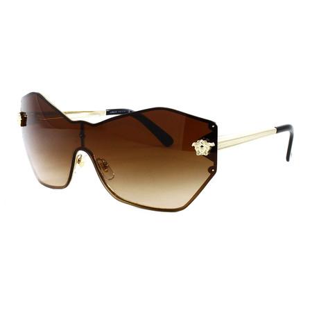 Women's VE2182 Sunglasses // Pale Gold