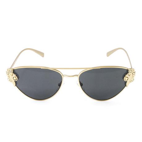 VE2195B Sunglasses // Tribute Gold