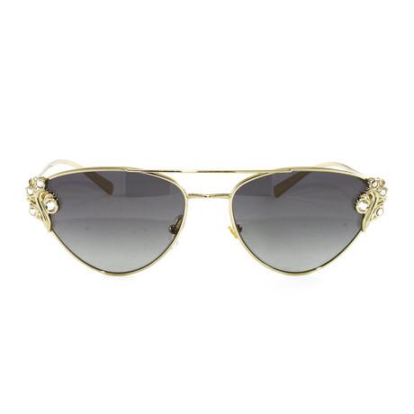 VE2195B Sunglasses // Pale Gold