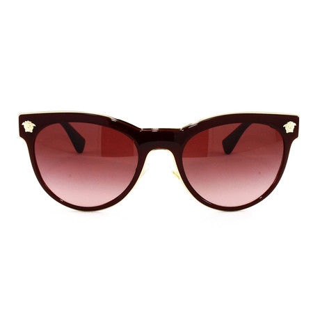 VE2198 Sunglasses // Burgundy
