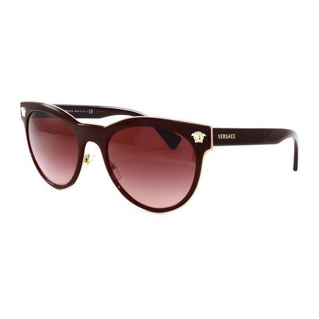 Women's VE2198 Sunglasses // Burgundy
