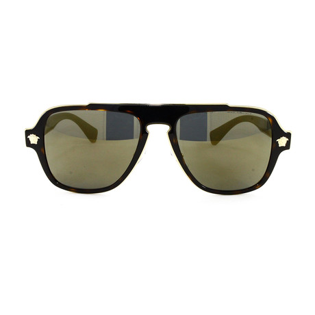 VE2199 Sunglasses // Dark Havana