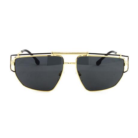VE2202 Sunglasses // Gold