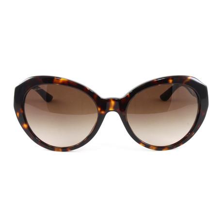 VE4306Q Sunglasses // Havana