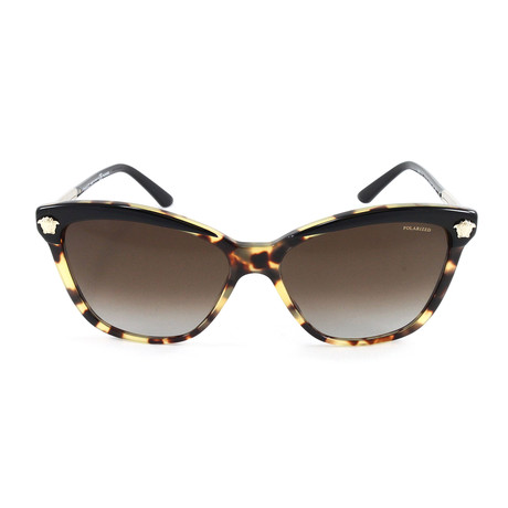 VE4313 Polarized Sunglasses // Black Havana