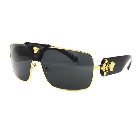 Men's VE2207Q Sunglasses // Gold