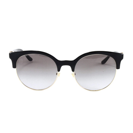 VE4326B Sunglasses // Black + Pale Gold