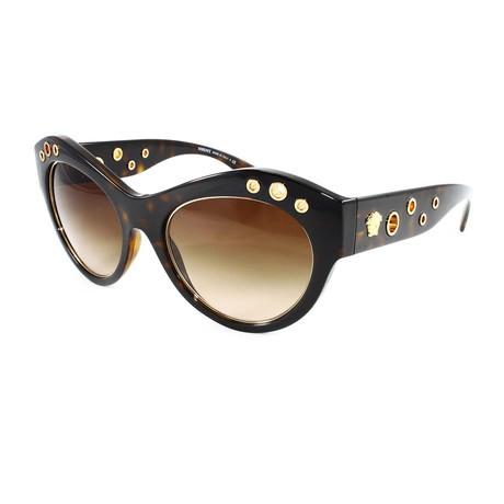 Versace // Women's VE4320 Sunglasses // Havana