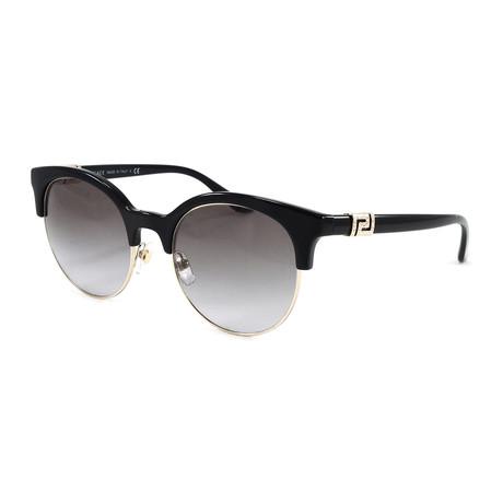 Women's VE4326B Sunglasses // Black + Pale Gold