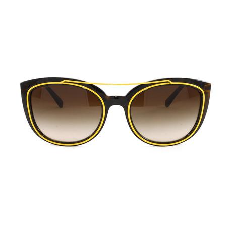 VE4336 Sunglasses // Havana