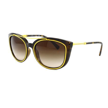 Women's VE4336 Sunglasses // Havana