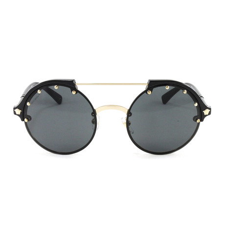 VE4337 Sunglasses // Pale Gold + Black