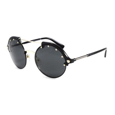 Versace // Women's VE4337 Sunglasses // Pale Gold + Black