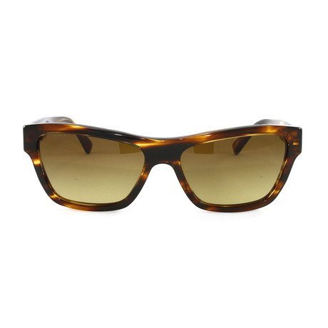 VE4344 Sunglasses // Striped Havana