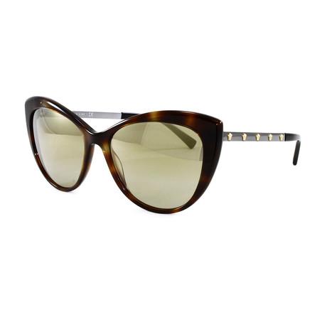 Versace // Women's VE4348 Sunglasses // Dark Havana
