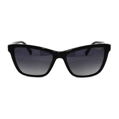 VE4354B Polarized Sunglasses // Black
