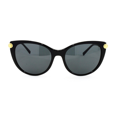 VE4364Q Sunglasses // Black