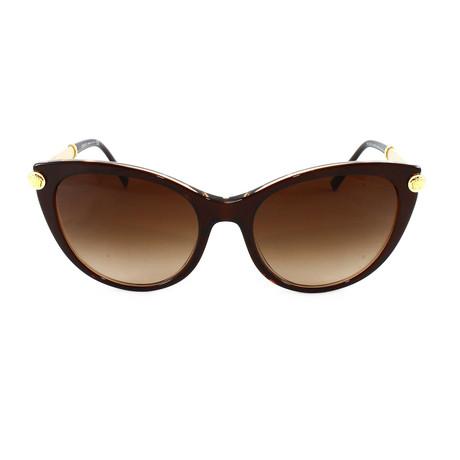 VE4364Q Sunglasses // Brown Transparent