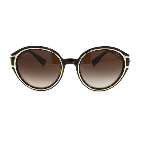 VE4342 Sunglasses // Havana + Pale Gold