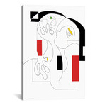 """Anonymus With Colors // Hildegarde Handsaeme (18""""W x 26""""H x 0.75""""D)"""