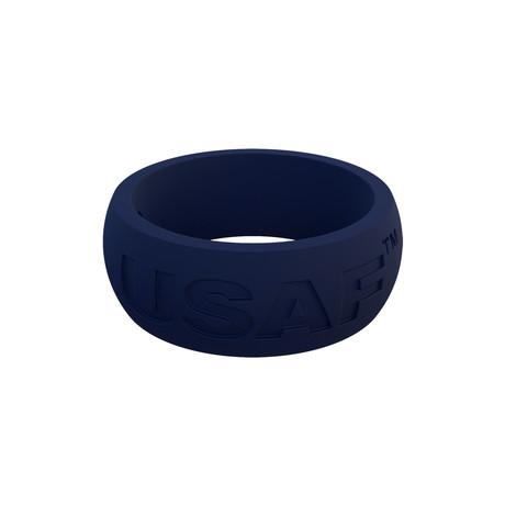 USAF Classic Q2X Ring // Blue (Size 8)
