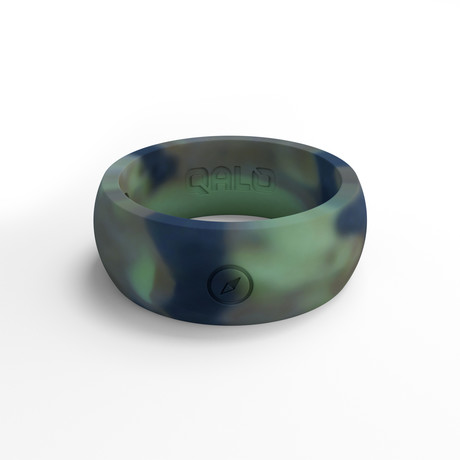Outdoors Camo Silicone Ring (Size 8)