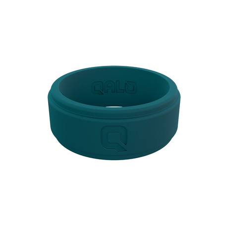 Step Edge Q2X Ring // Jade Green (Size 7)