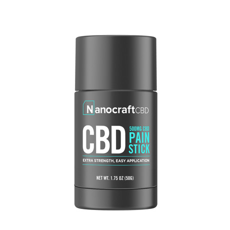 Nanocraft CBD Extra Strength Salve Stick // 500 MG