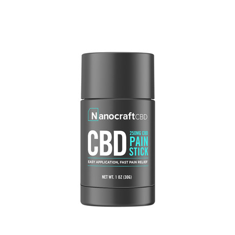Nanocraft CBD Salve Stick // 250 MG