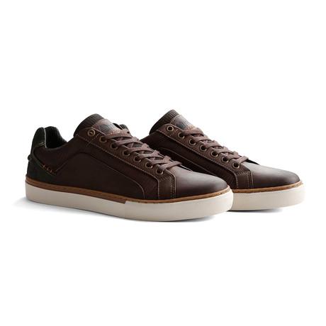 Men's Johnson Sneaker // Dark Brown (Euro: 40)