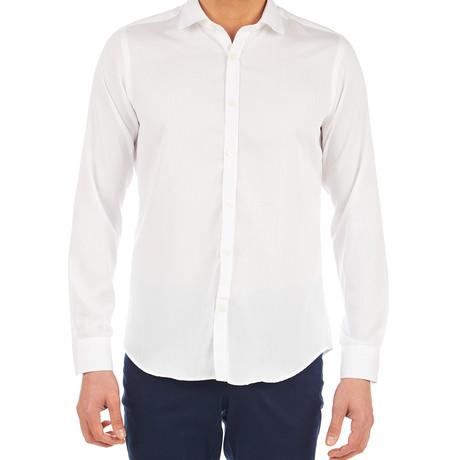 Jerry Oxford Dress Shirt // White (S)