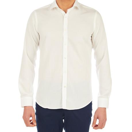 Tyler Dress Shirt // Off-White (S)