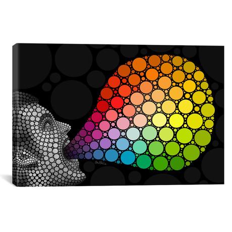 """Give Me Colors // Ben Heine (26""""W x 18""""H x 0.75""""D)"""