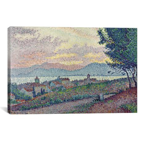 St. Tropez, Pinewood // Paul Signac // 1896