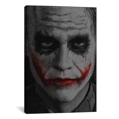 "The Joker // Robotic Ewe (18""W x 26""H x 0.75""D)"