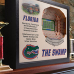 Florida Gators Wall Art (25 Layer)