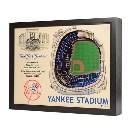 New York Yankees // Yankee Stadium // 25 Layer Wall Art