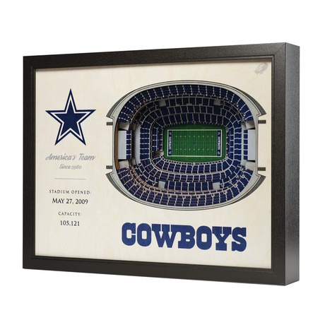 Dallas Cowboys // AT&T Stadium (5-Layer)