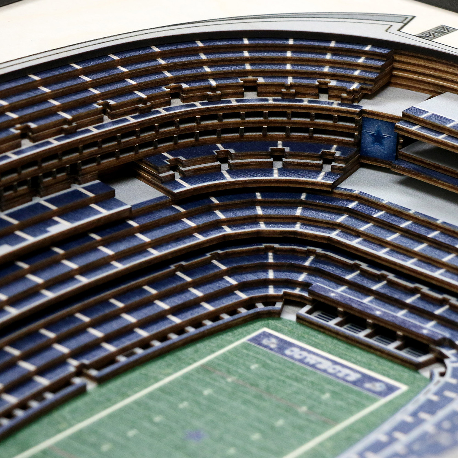 Dallas Cowboys AT&T Stadium You The Fan Touch of Modern