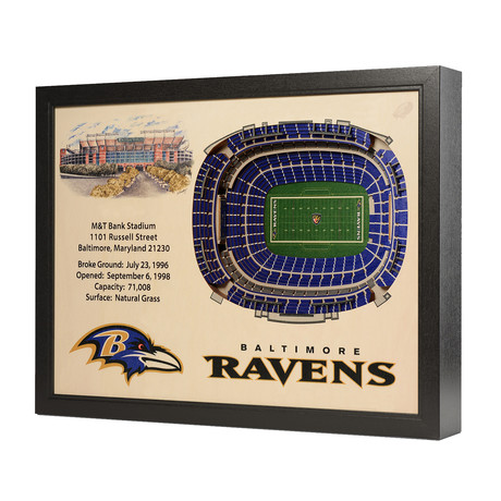 Baltimore Ravens // M&T Bank Stadium (5 Layers)