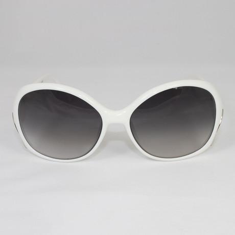 EP668S-109 Sunglasses // Bone White