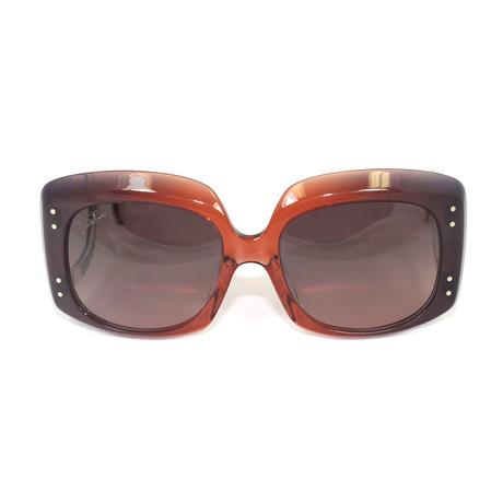 EP681S-831 Sunglasses // Orange + Purple Gradient