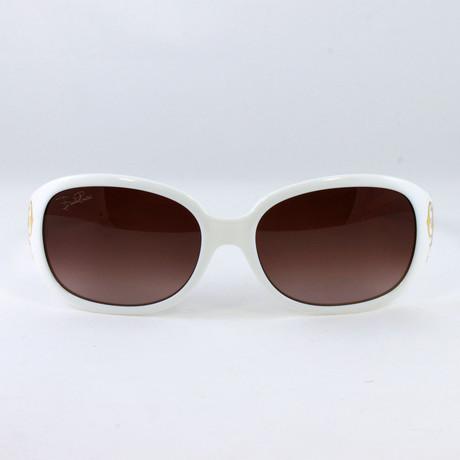 EP662S-109 Sunglasses // Bone White
