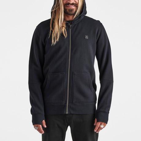 Well Worn Zip Fleece // Black (S)