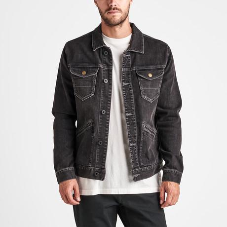 HWY 120 Jacket // Worn Black (S)