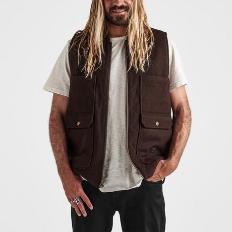 Andres Vest Jacket // Brown (S)