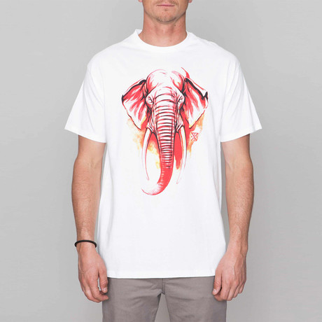 Elephant By JT Tee // White (S)