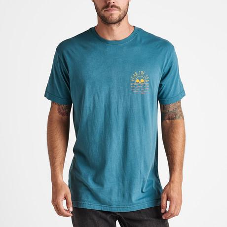 Fear the Gradient Sea Short-Sleeve Tee // Ocean (S)