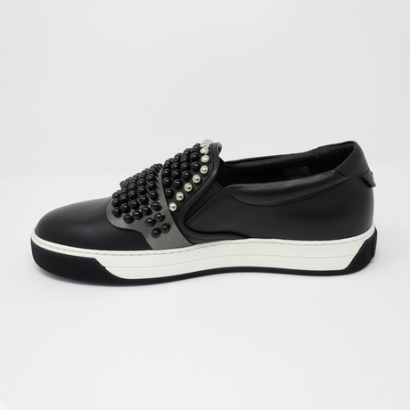 Karlito' Slip-On Sneakers // Black (US: 5)