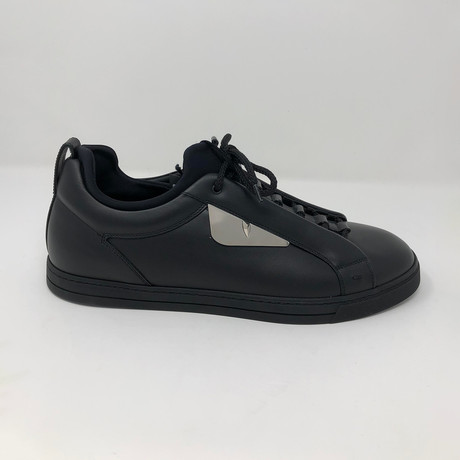 Leather Low-Top // Black (US: 5)